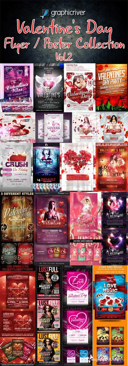 GraphicRiver Valentine's Day Flyer Templates Collection - Vol.2
