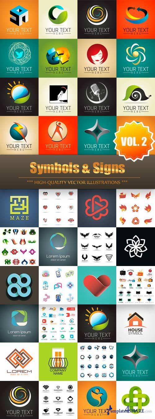 Symbols & Signs Vector Collection (Vol.2)