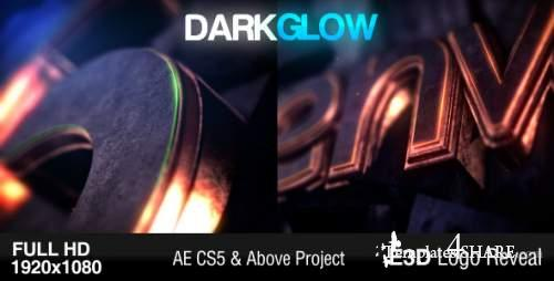 Dark Glow Logo Reveal - After Effects Project (Videohive)