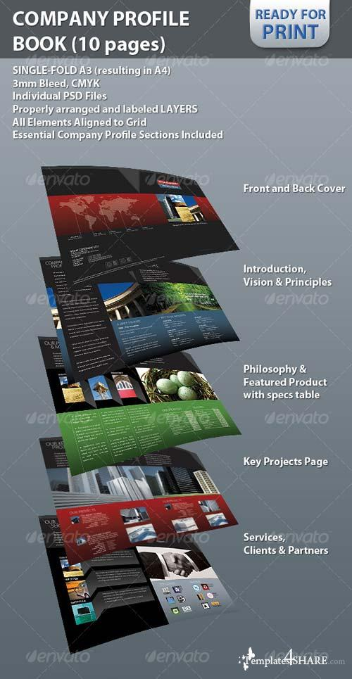 GraphicRiver Professional Company Profile Brochure (10 pages)
