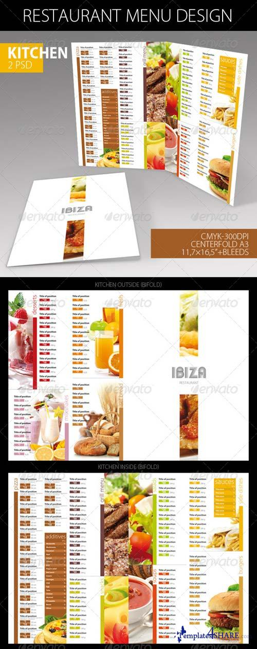GraphicRiver Restaurant Menu Design