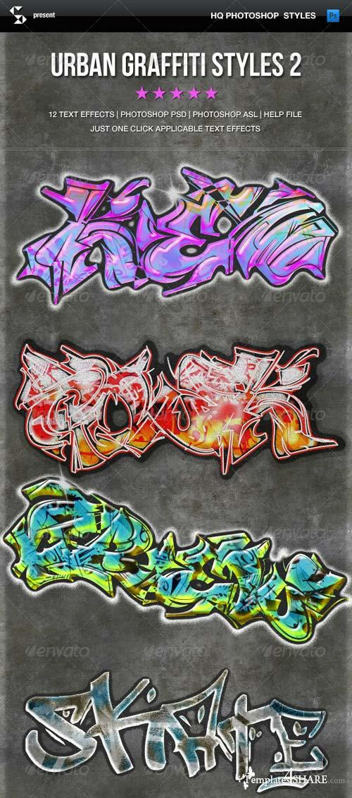 GraphicRiver Urban Graffiti Text Effects 2