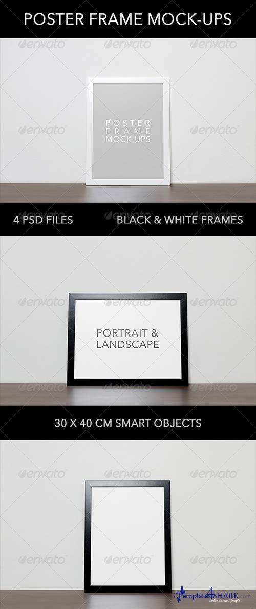 GraphicRiver Poster Frame Mock-ups