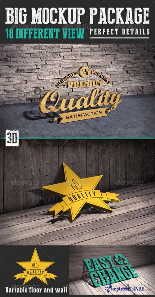 GraphicRiver Big Mockup Package