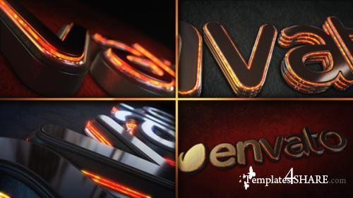 Magma Glow Logo Reveal - After Effects Project (Videohive)