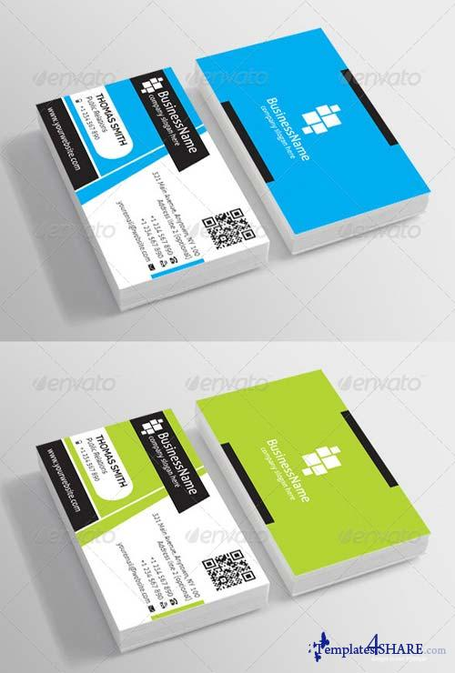 GraphicRiver Corporate Business Card 6898177