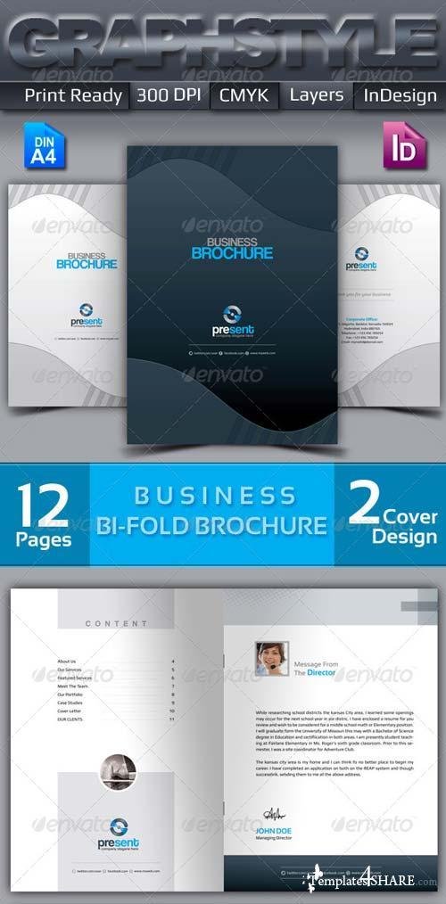 GraphicRiver Present_Bi-fold corporate business brochure
