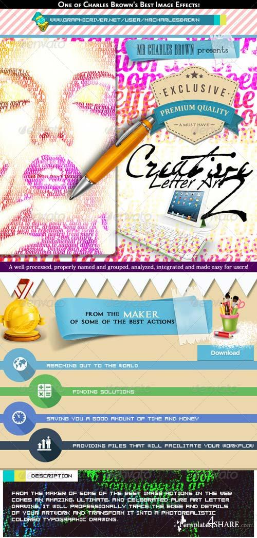 GraphicRiver Creative Letter Art 2