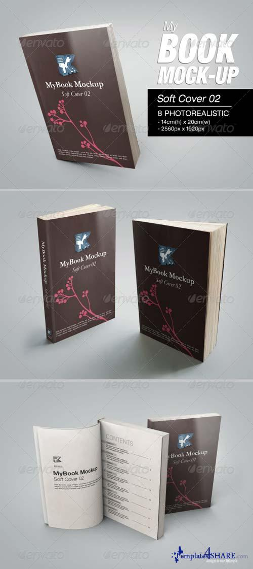 GraphicRiver MyBook Mock-up - Soft Cover 02