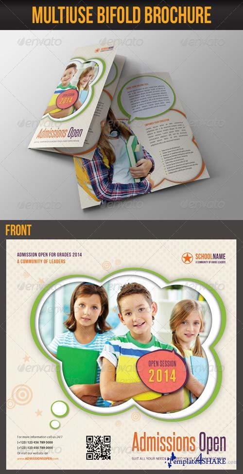 GraphicRiver Multiuse Bifold Brochure 49