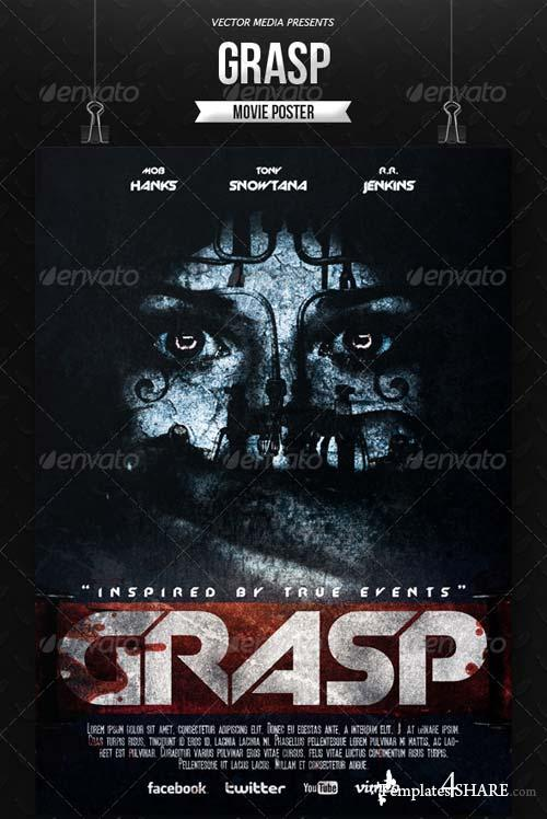 GraphicRiver Horror - Movie Poster [Vol.2]