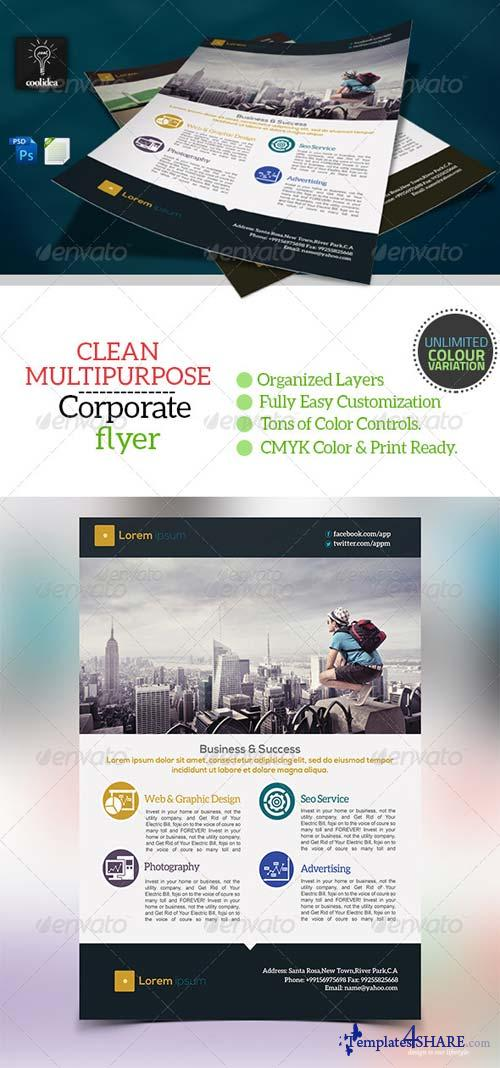 GraphicRiver Corporate Flyer Template Business Vol03