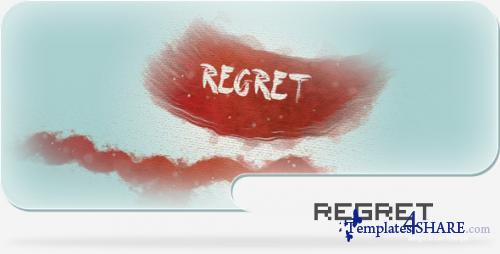 Regret - A Paint and Canvas Template - After Effects Project (Videohive)