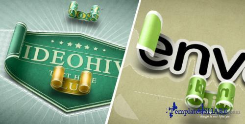 Unwrapping 3D Stickers Labels & Titles - After Effects Project (Videohive)