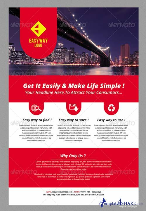 GraphicRiver Simple Multi Purpose Flyer