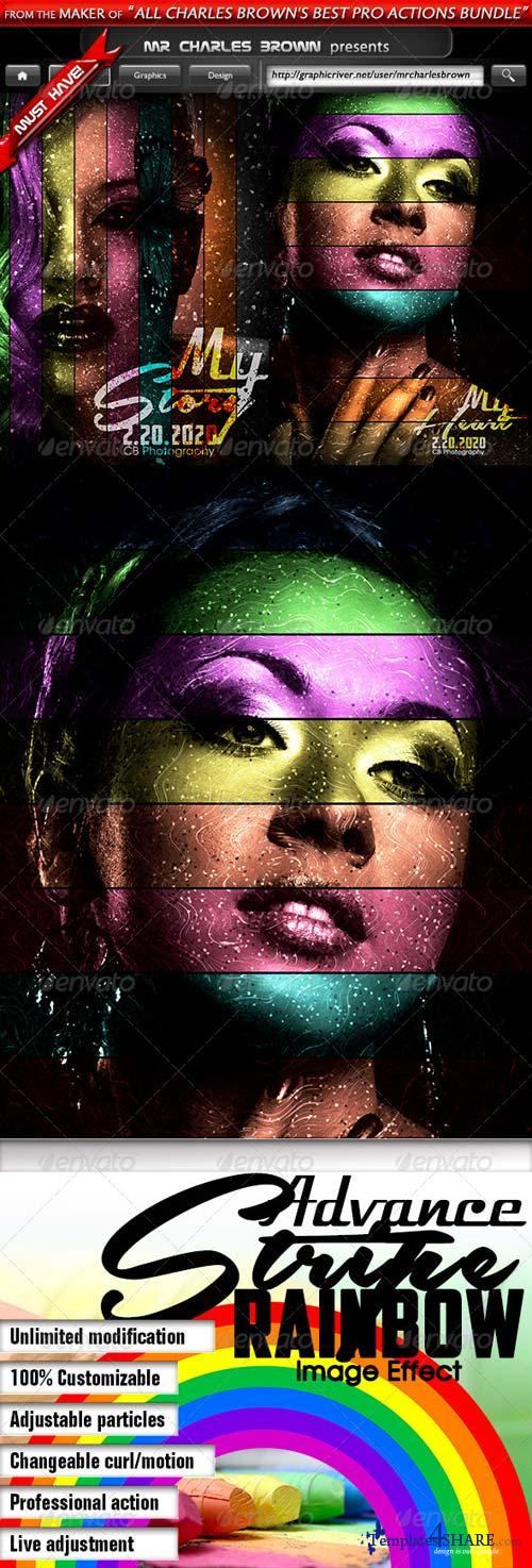 GraphicRiver Advance Rainbow Stripe Action