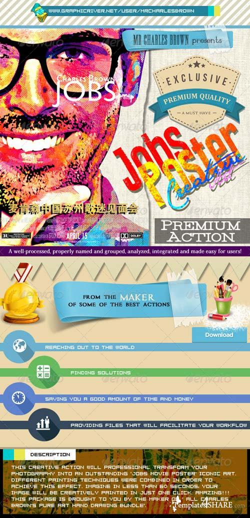 GraphicRiver Jobs Creative Poster