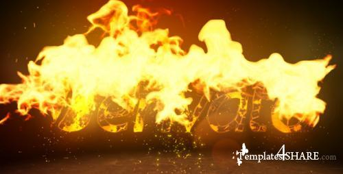 Fire Logo Reveal 4663555 - After Effects Project (Videohive)