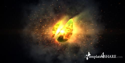 Orb Fire Logo Reveal - After Effects Project (Videohive)