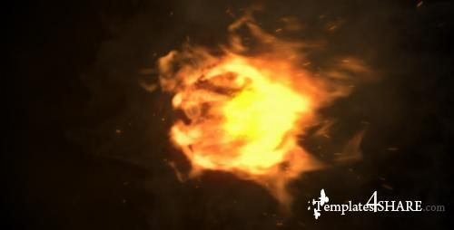 Fire Logo Reveal 4803849 - After Effects Project (Videohive)