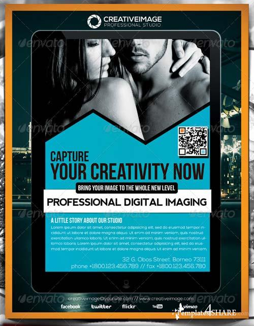 GraphicRiver Creative Image Studio Flyer