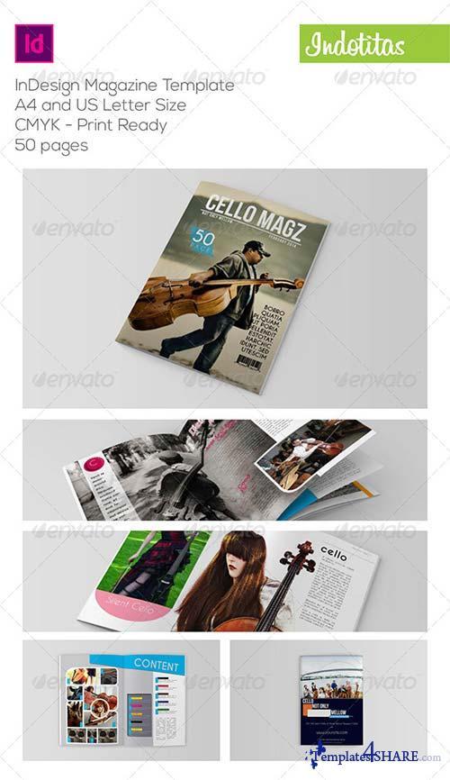 GraphicRiver InDesign Magazine Template 6898166