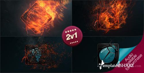 Burning Logo Reveal - After Effects Project (Videohive)