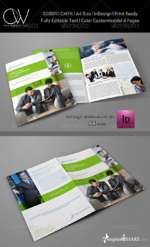 GraphicRiver Company Brochure Bi-Fold Template Vol.19