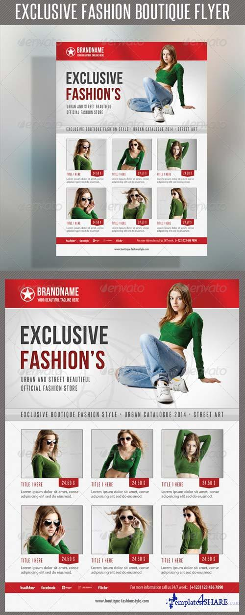 GraphicRiver Fashion Product Flyer 38