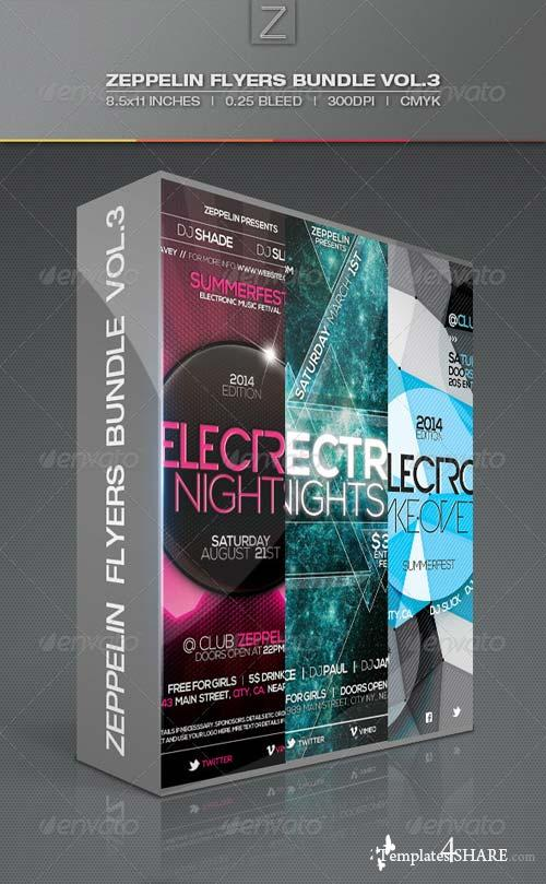 GraphicRiver Flyers Bundle Vol.3