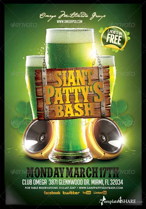 GraphicRiver St. Patty's Bash