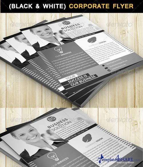 GraphicRiver Corporate Flyer (Black & White)