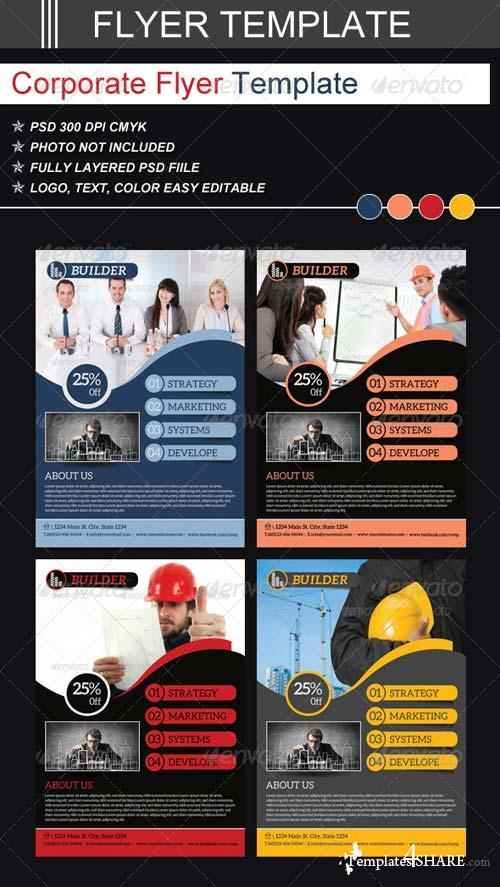 GraphicRiver Corporate Flyer Templates