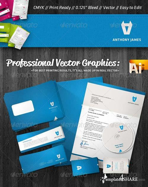 GraphicRiver Professional Agency Corporate Identity Package