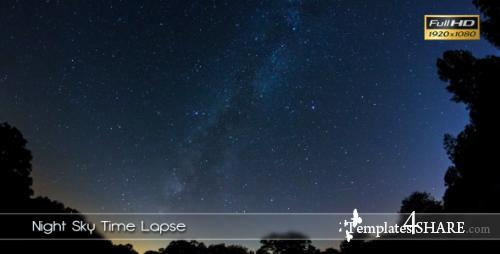 Night Sky Time Lapse - Stock Footage (Videohive)