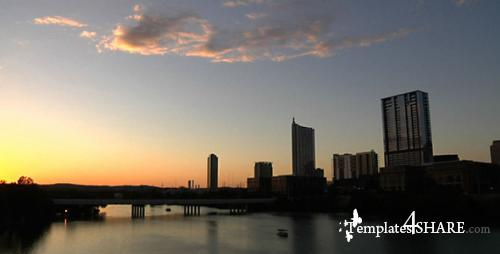 Time Lapse Lady Bird Lake - Stock Footage (Videohive)