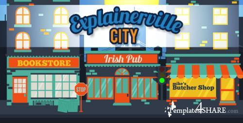 Explainerville City - After Effects Project (Videohive)