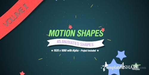 Motion Shapes Vol.2 - After Effects Motion Graphics (Videohive)