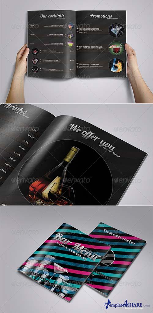 GraphicRiver Bar Menu