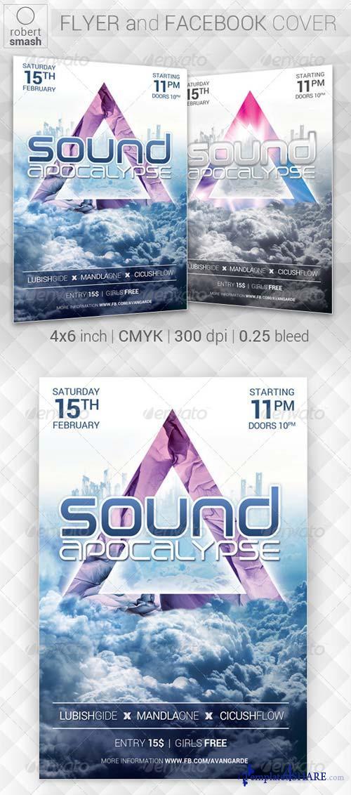 GraphicRiver Sound Apocalypse Flyer