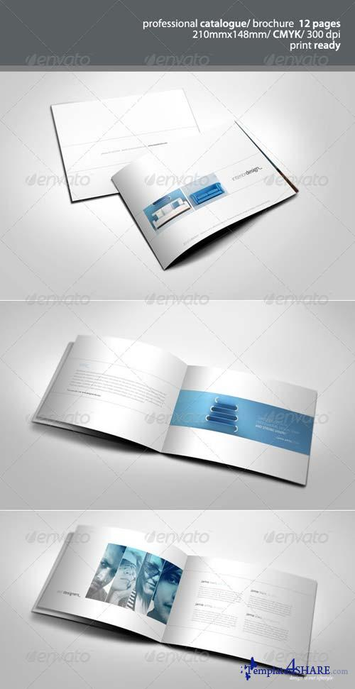 GraphicRiver Simple & Clean A5 Catalogue