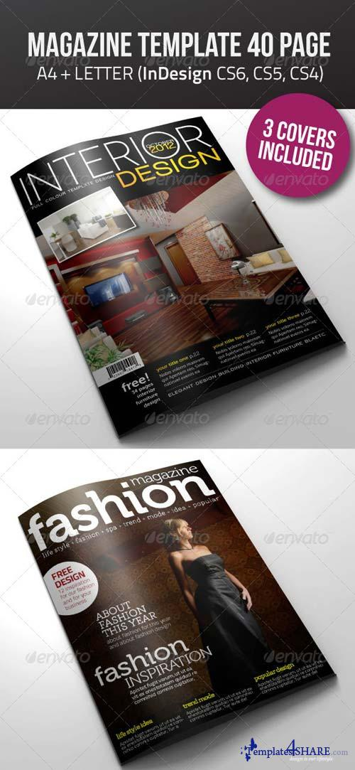 GraphicRiver A4/Letter 40 Pages mgz (Vol. 5)