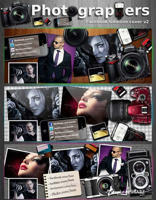 GraphicRiver Photography Facebook Timeline Cover V2