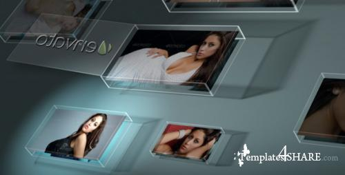 Glass Box Portfolio Showcase - After Effects Project (Videohive)