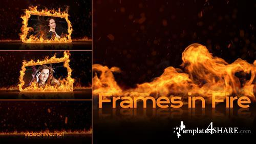 Frames in Fire - After Effects Project (Videohive)