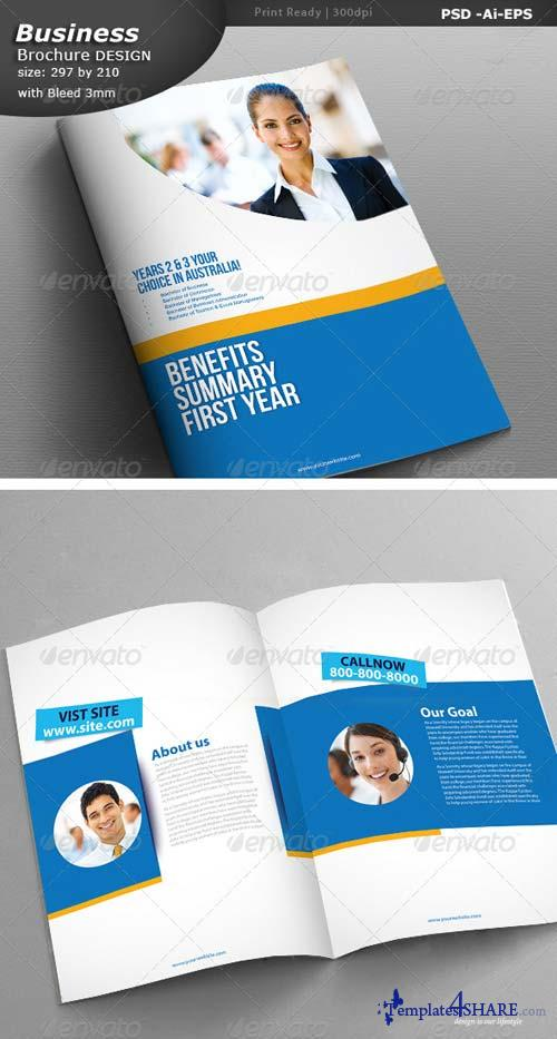 GraphicRiver Business Brochure Design