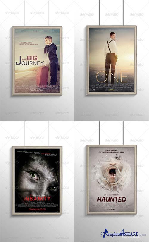 GraphicRiver Movies Posters Templates Bundle