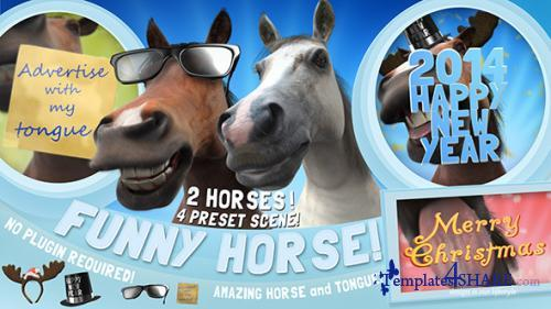 Funny Horse Opener - After Effects Project (Videohive)