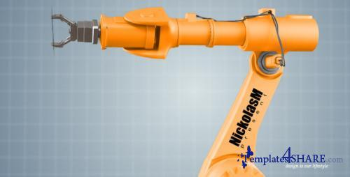 Industrial Robot - After Effects Project (Videohive)
