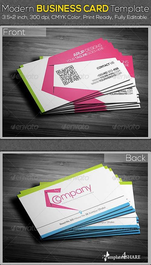GraphicRiver Modern Business Card Template